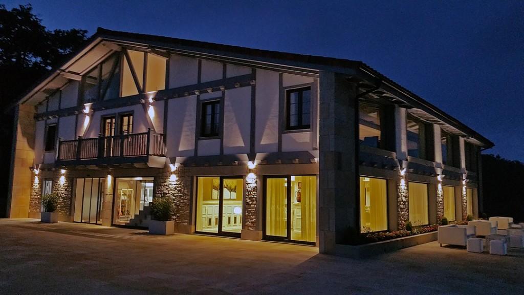 Arquitectura restaurantes decoraci n de restaurantes dise o de interiores de hoteles - Restaurante abeletxe ...
