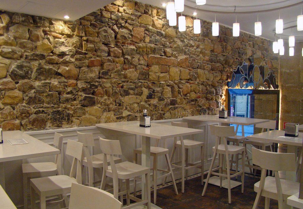 Nuevo mobiliario para hostelería en la zona de bar