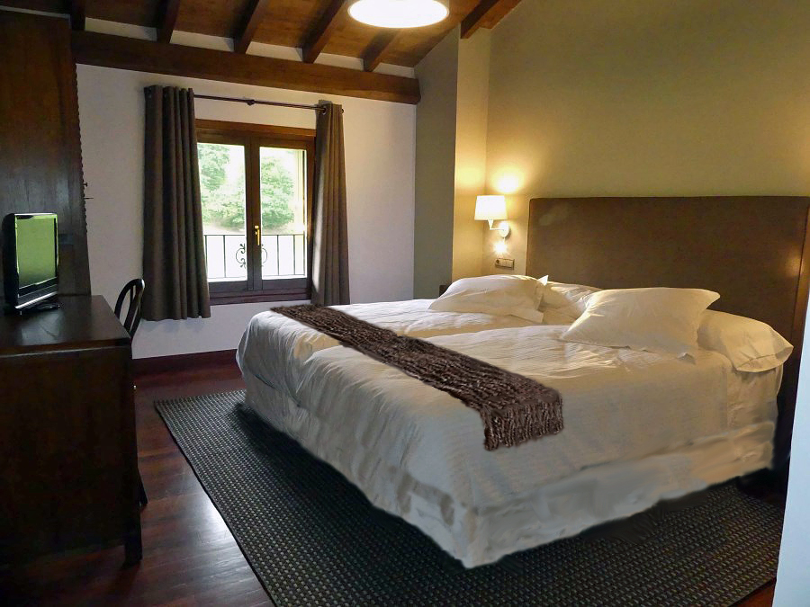 Habitación del Hotel Rural Arregi