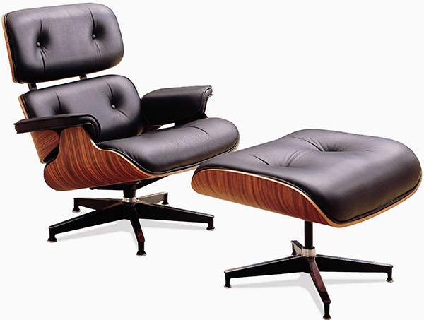 Lounge chair, Charles & Ray Eames